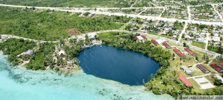 El cenote de la bruja un lugar místico y de historia.