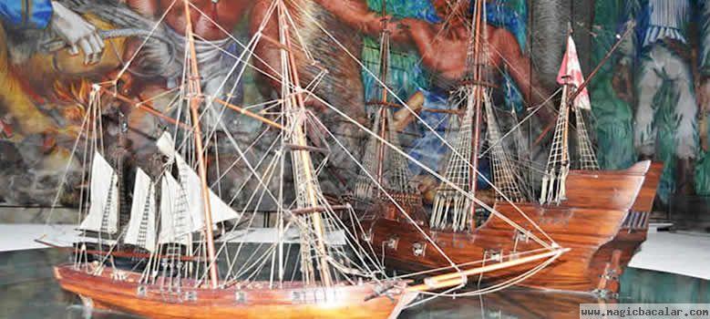 Los piratas en Bacalar y sus rutas.