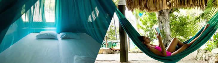 Hospedaje - Alojamiento - Cabaña privada en Laguna de Bacalar