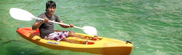 Sevicio de Kayaks en Laguna de Bacalar