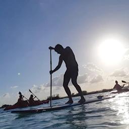 Atardecer en Paddle Board