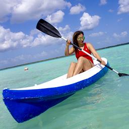 Amanecer en Kayak
